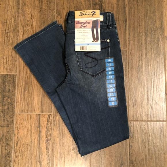 Seven7 Denim - Seven7 tummyless bootcut Jeans 10